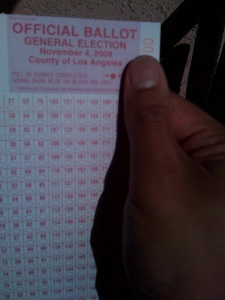 My Secret Ballot